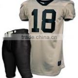 American football uniform, custom football jersey , Customized 100% Polyester Mesh Wicking