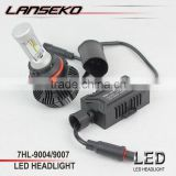 High brightness 4000lm 30w DC12v-24v car accessories led headlight, best beam pattern for all models