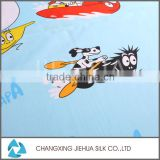 Best selling 2016 custom cartoon characters print cotton fabric wholesale used for baby clothes