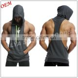 Muscle Stringer Hoodie Men Clothing Sleeveless Sweatshirts Clothes Bodybuilding Hoodies Fitness Gym Tank Tops                                                                         Quality Choice                                                     Most P