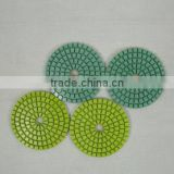 Diamond flexible polishing pads- wet pads