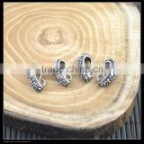 LFD-00C7 Charms! Pave Rhinestone Decoration Pinch Bail Clasps For Jewelry Making pendant