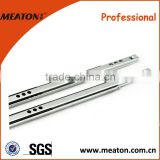 Hot sale!! Mini telescopic slide drawer, 16mm ball bearing slide brackets