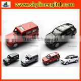 Alibaba Diecast Business Diecast Car with Music and Light Pull back functions