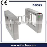 Entry And Exit Stainless Steel folding Swing Gate With CE Approved