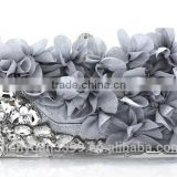Hot 2014 Evening Bag , Flower Bride Bag Purse , full dress Party handbag Wedding Clutch Women Evening Purse Lady Gift Aliy                                                                         Quality Choice