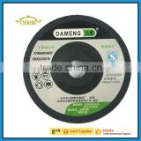 resin bonded abrasive flexible grinding wheel for metal and stainless steel with EN12413