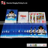 Normal type paper material famous brand playing cards