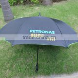 Top Quality Promotional Custom Durable Handy Wet and dry Auto Open Double Windproof Layer Golf Umbrella