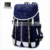 Fashion Japanese canvas school backpack with digital printed