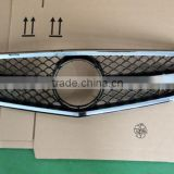 W204 ABS car front grill grille car parts for BENZ grill with silver color