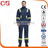 Nomex FR Coverall Navy Blue