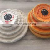 High Quality Customized Dental Polishing Wheels Stainless Steel Buffing Wheel-- Yellow Blue Green