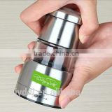 Stainless Steel Pepper & Salt Mill and with Ceramic Grinder