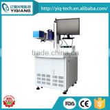 cheapest EZCAD control software organic glass fiber laser marking machine