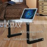 china universal Multi-Funtion Folding Protable Laptop desk without cooling fan/ laptop table bed computer desk