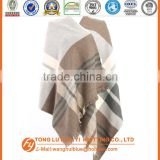 Audited Factory woven 100% acrylic cashmere scarf mens
