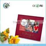 Novelty Paper wedding/ family Photo adhesive paper photo book with Music full with love photo frame