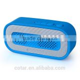 2015 best stereo audio sound 3W wireless FM radio bluetooth speaker with USB Flash MP3 Player