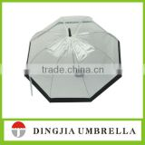 "wholesale 19"" straight kids clear bubble umbrella"
