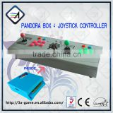 2016 Newest Arcade Kit Joystick Controller With Pandora Box 4 USB Connection for PC Game VGA HD/ AV Output For Screen
