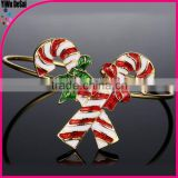 Christmas creative gift bangle unique alloy bracelet