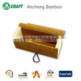 high quality bamboo watch gift box with nice looking