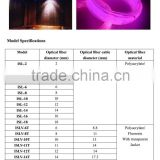 Pmma fibre optics used for swimming pool and spa lighting fiber