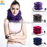 fashion inflatable air cervical collar adjustable soft cervical traction neck traction with low price                                                                         Quality Choice