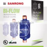 SRS Liquid Line Heat Pump Bi-Directional Filter Drier, ODF Solder Bi-Flow Filter Drier with BFK DMB 163s 164s 165s 167s