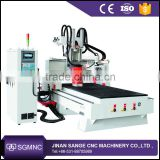 Advanced Italy HSD Spindle and SYNTEC control system Yaskawa servo motor 8 tools ATC CNC Router