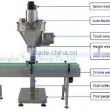 atomatic auger screw powder filling machine