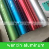 Blue anodizing aluminum chair leg tube