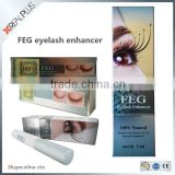 FEG Factory supply rebrand herbal lashes serum 100% no animal tested FEG eyelash growth mascara