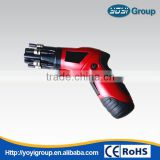 Foldable rechargeable 3.6V/4.8V screwdriver torque electric screwdriver to adjust the mini drill