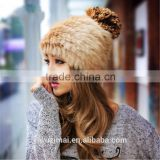 2015 new winter rabbit fur Korean female fashion warm winter fur hat                                                                         Quality Choice