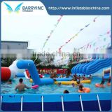New Asia home swimming pool , home swimming pool with inflatable unicorn pool float