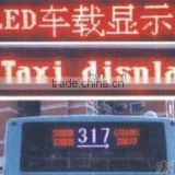 asram LED Car display,led taxi display,led bus display taxi LED board sign/LED display