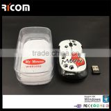 quality mouse bluetooth transmitter and receiver,wireless bluetooth mouse girl and animals sex--BM6012--Shenzhen Ricom