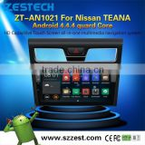 NEW Android 4.4.4 up to 5.1 car dvd gps navigation system For Nissan TEANA MCU 1.6G 4 core 3g wifi OBDII