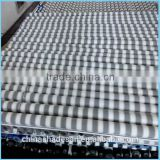 Factory directly produced 100% virgin HDPE material two stripes of Roller Blind