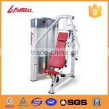 Gym Equipment Names / Commercial Body Building /Fitness Equipment Types/ LJ-5506 Chest Press