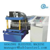 automatic Hydraulic Shear CE Certification PLC Control C Z Channel Galvanized Steel Track and Studs Roll Forming Mahine