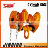 2015 New Design GCL-A Type Geared Monorail Trolley / Beam Lifting Trolley Hoist,CE standard