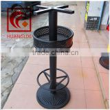 Bar table legs, metal table base, cast iron table legs,bar stool legs, outdoor table leg