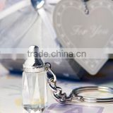 crystal baby bottle keychains best baby shower favors