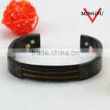 2015 stainless steel cable wire wrap bangle