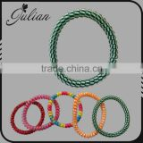 Telephone Wire Gum Springs Elastic Hair Bands Spiral Scrunchy Hairbands Headbands Hair Ties FHHTA0019-1