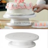 Plastic Cake Decorating Turntable Baking Tools / Cake Decorating Turntable Display Stand / Cake Decorating Turntable