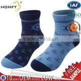 Free Samples Boy Thick Merino Wool Warm Thermal Hiking Sport Socks-Children